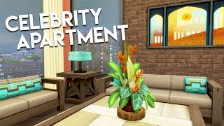 CELEBRITY APARTMENT // The Sims 4: Speed Build