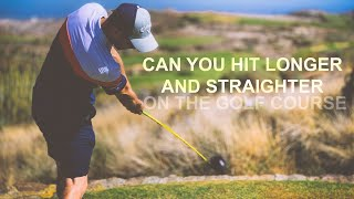 CAN WE TAKE OUR SPEED TO THE GOLF COURSE LONGER AND STRAIGHTER DRIVES OR FIELD BALLS