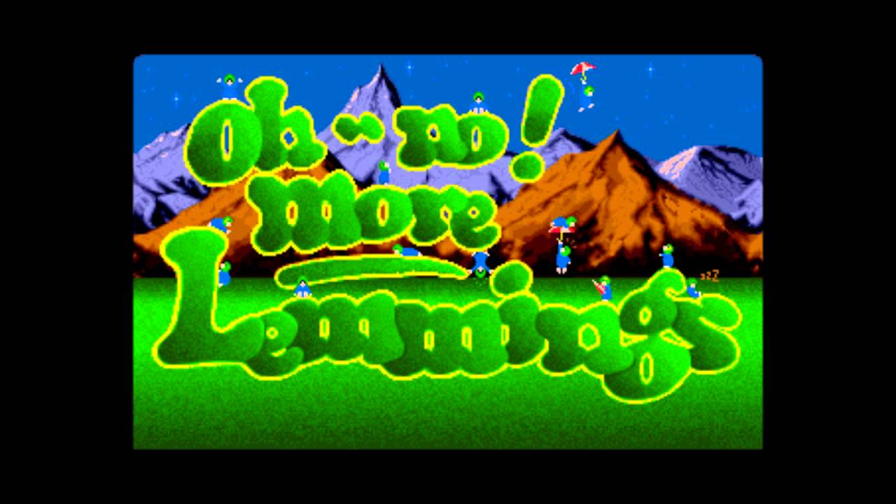 Resultado de imagen de oh no more lemmings