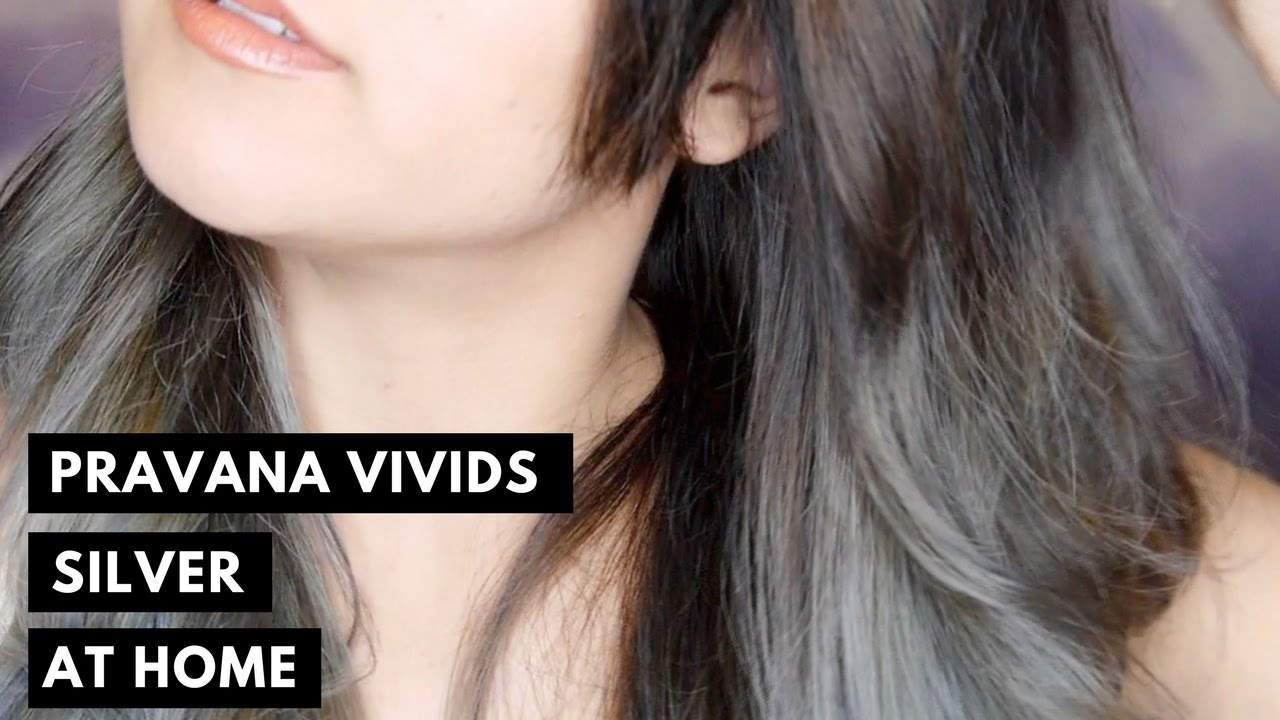 Silver Hair At Home Pravana Chromasilk Vivids Silver