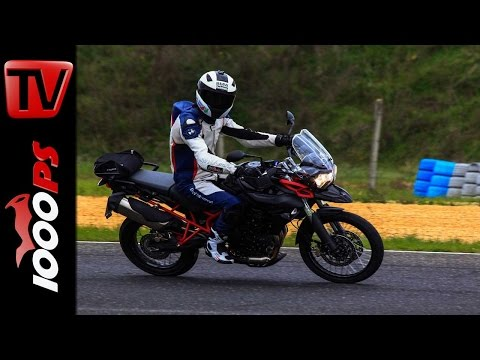 Thriumph Tiger 800 XC Racetrack - Pannoniaring Onboard
