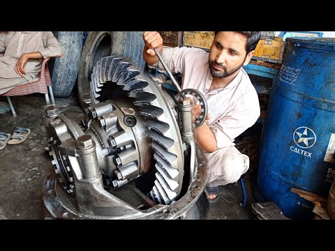 Restoration Truck differential Gear||How To Repair truck differential Gear||