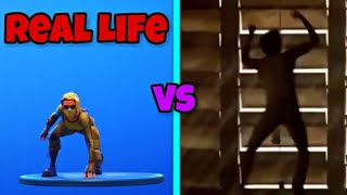 Dance Therapy Dance | Dance Therapy Dance in Real Life! 🌚 | Fortnite Battle Royale
