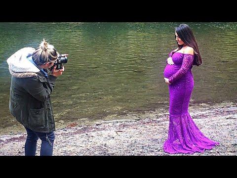 GRWM Maternity Shoot Sneak Peek
