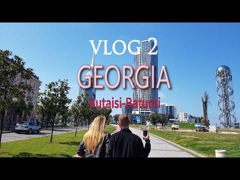 Travel vlog Georgia-Batumi/Kutaisi | Vlog 2