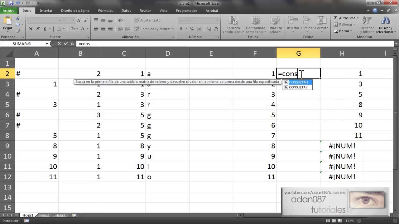Excel combinar datos duplicados utilizando formulas - YouTube