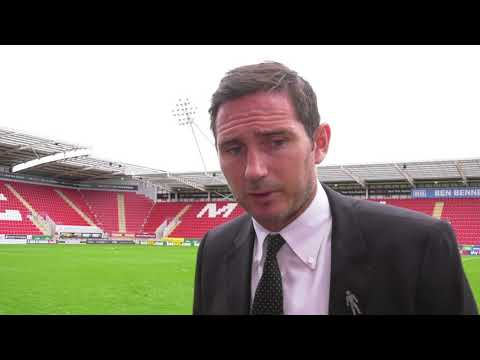 POST MATCH   Frank Lampard Post Rotherham United (A)