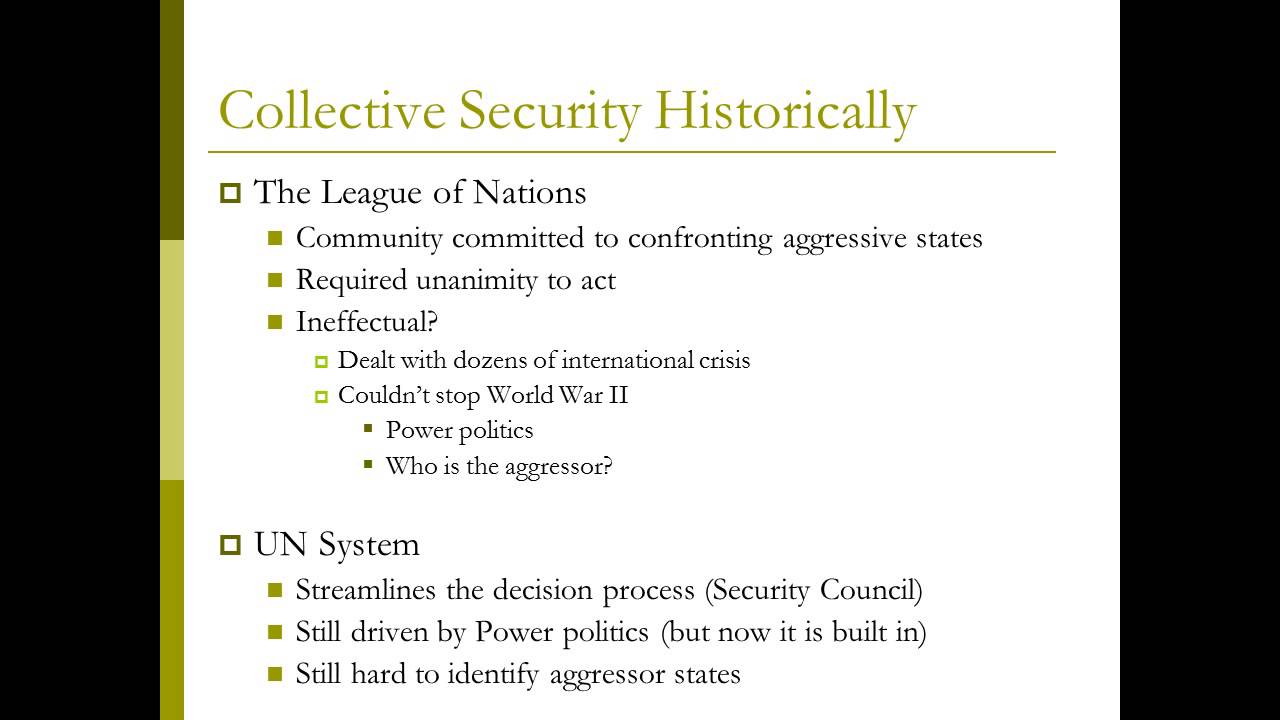 collective security vs appeasement ww2 British policy of appeasement at the beginning of world war two - british policy  of  from this, the idea of collective security was formed and the league of  nations was set up including the countries who did not want war  corinthians  vs.
