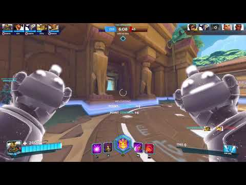 Paladins Casual Match Testing Out Third Person View