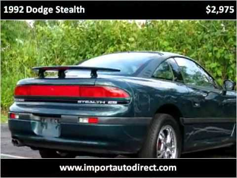 1992 Dodge Stealth available from Imports Auto Direct