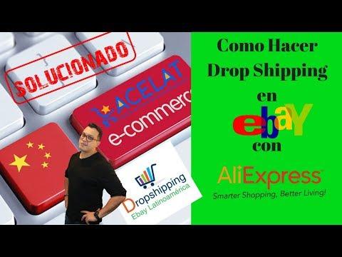 Como Hacer Drop shipping en Ebay con Aliexpress de Forma Rápida y Efectiva