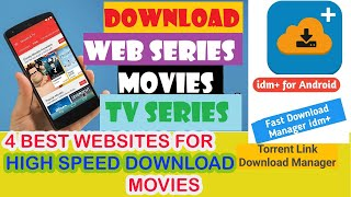HOW TO DOWNLOAD MOVIES | WEB SERIES | 100% 🔥 ON ANDROID MOBILES USING FAST TORRENT LINKS |