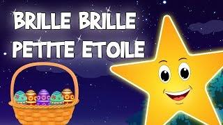 Brille Brille Petite Etoile (Twinkle Twinkle Little Star)   French Nursery Rhymes   CDS Télé Enfants