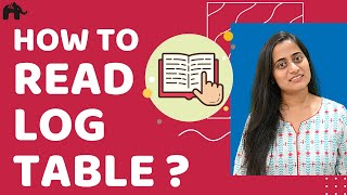 How to Read Log Table : Maths, Mathematics