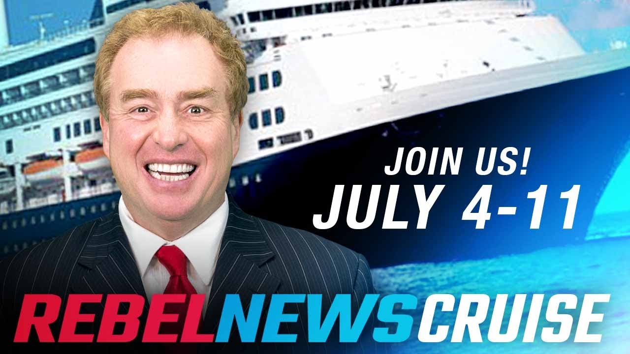 Ship ahoy, Mateys! Rebel News is going on a cruise this July! | David Menzies