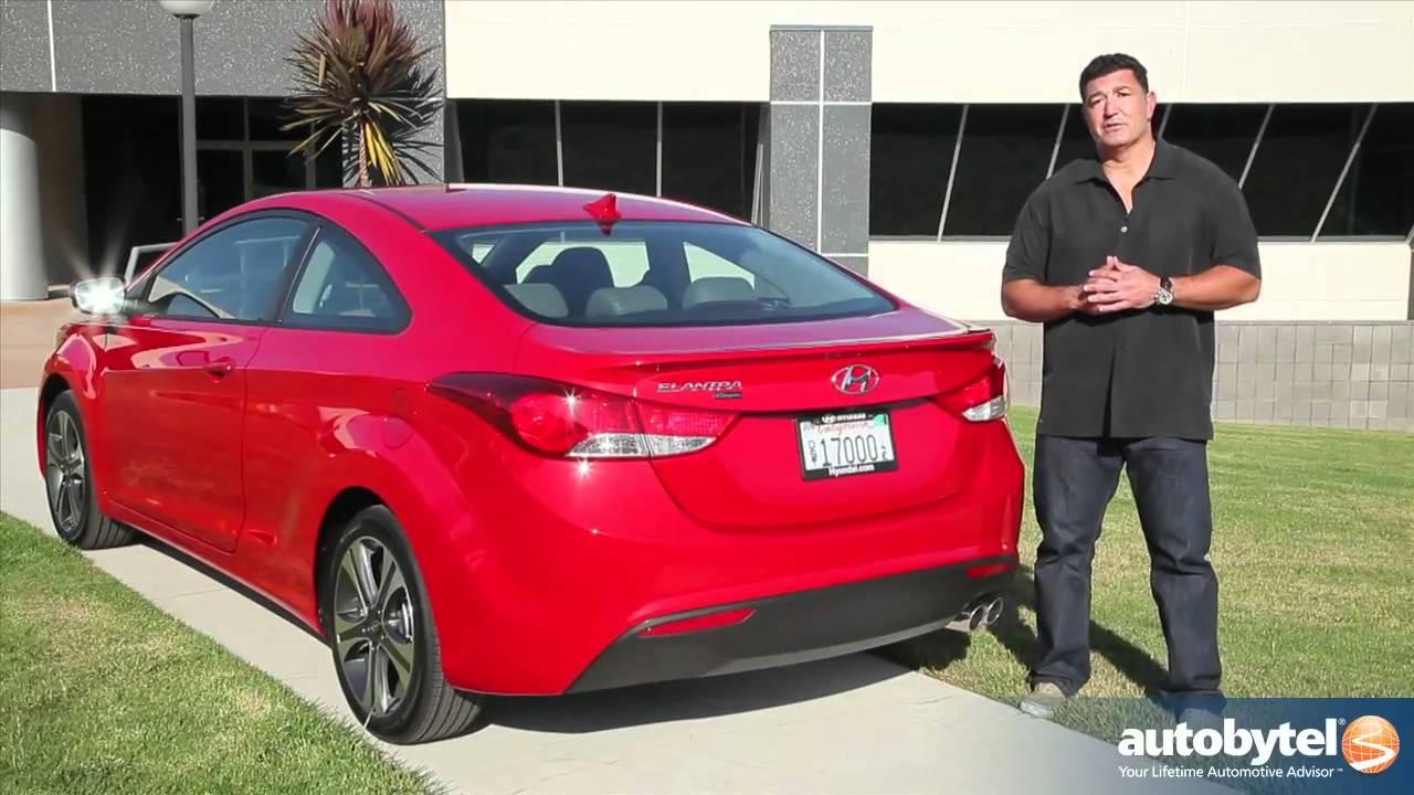 2013 Hyundai Elantra Coupe Car Video Review   YouTube