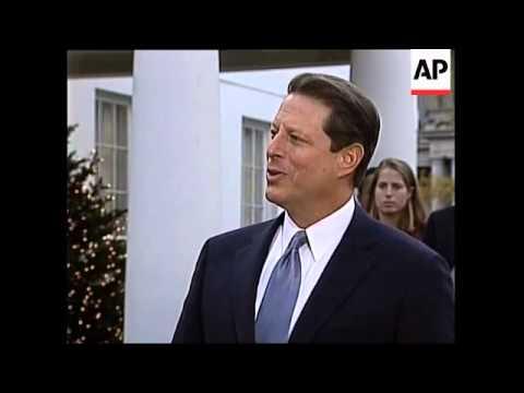 USA: AL GORE DISCUSSES APPEAL