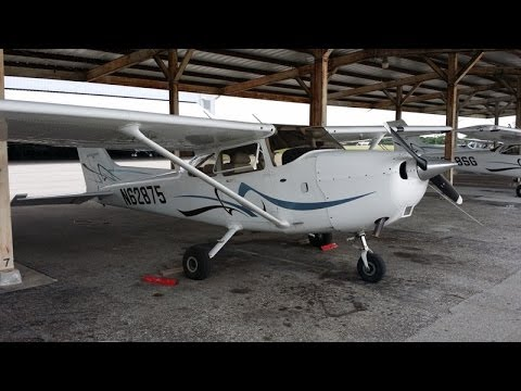 Flying in Florida at Sunstate Aviation in a Cessna 172 live ATC