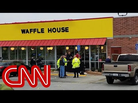 CNN: 4 killed at Tennessee Waffle House as police search for seminude suspect