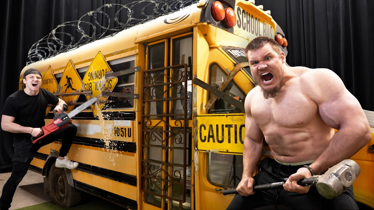 Download First To Break Into Armored School Bus Wins $10,000