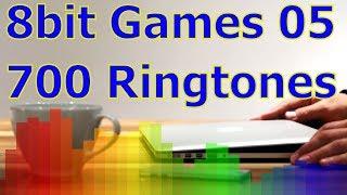 8bit Games 05 - For iOS Devices - iPhone, iPad - 700 Ringtones