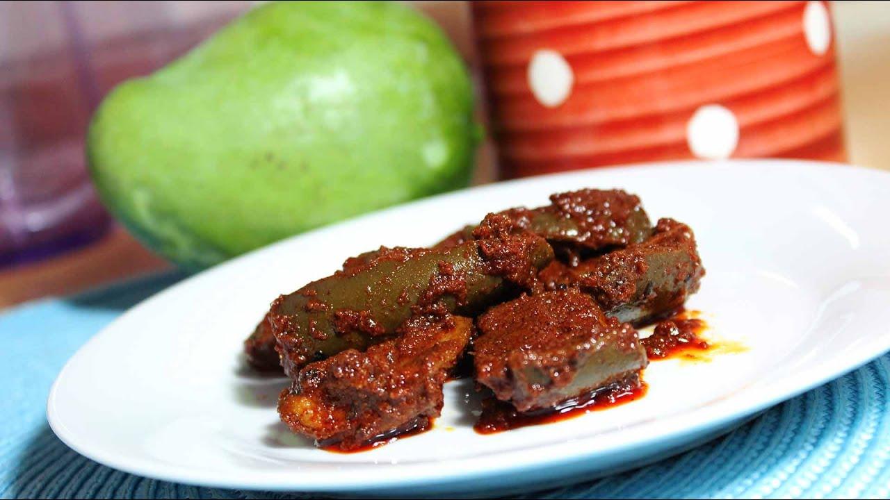 Mango Pickle Recipe  How To Make Spicy Mango Pickle