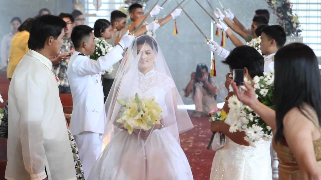 Fiedacan-Abapo Onsite Wedding Video (Military Wedding ...