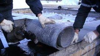 Гидроизоляция фундамента СУХОЙ ПОДВАЛ!!!(, 2013-05-04T05:35:49.000Z)