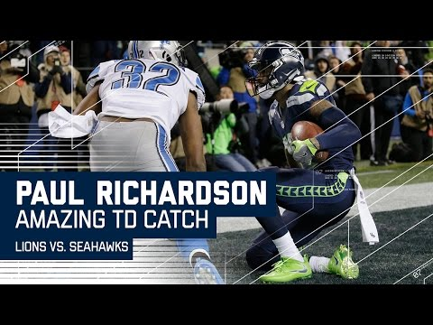 Richardson's Insane One-Handed TD Catch After Seahawks 4th Down Stop! | NFL Wild Card Highlights