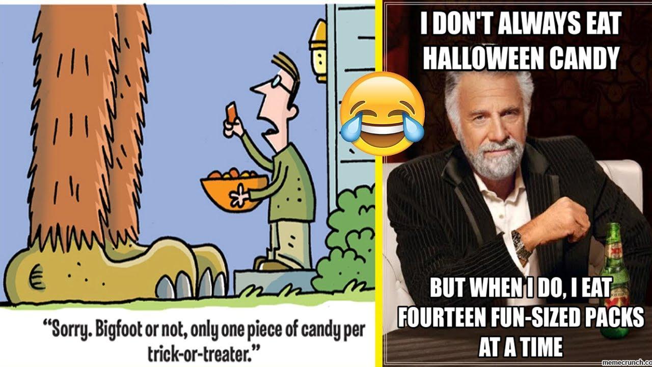 funny halloween memes and jokes - youtube