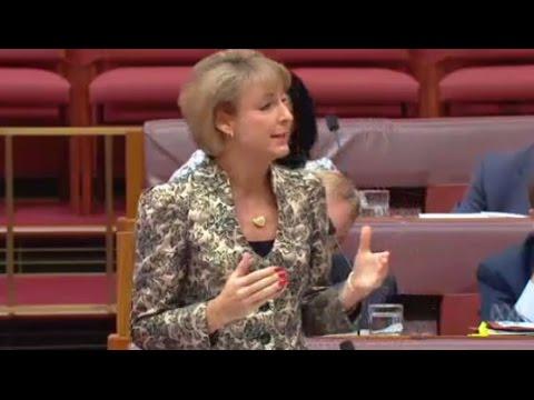 """You effing maggot"": Senator Michaelia Cash reads TURC transcripts"