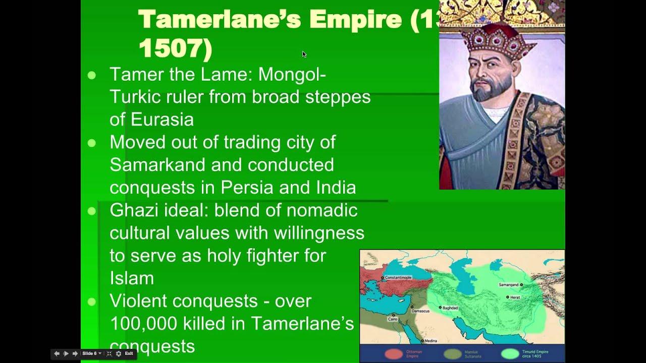 AP World History: Period 4: Gunpowder Empires Part I