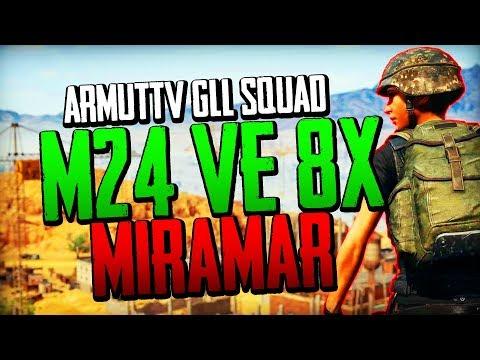 GLL Squad M24 + 8X Scope | ArmutTv