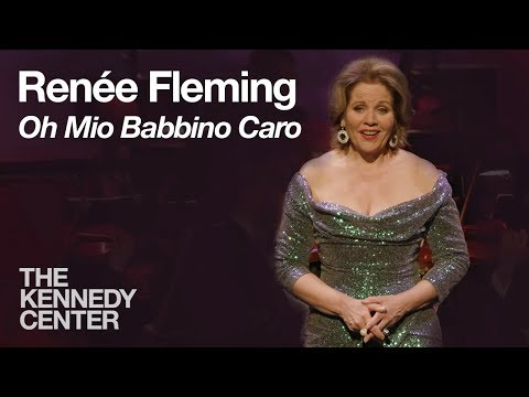 Renée Fleming sings