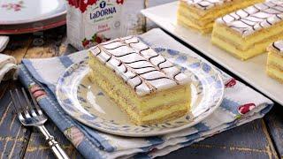Millefeuille cu crema de vanilie / Prajitura Napoleon (CC Eng Sub) | JamilaCuisine