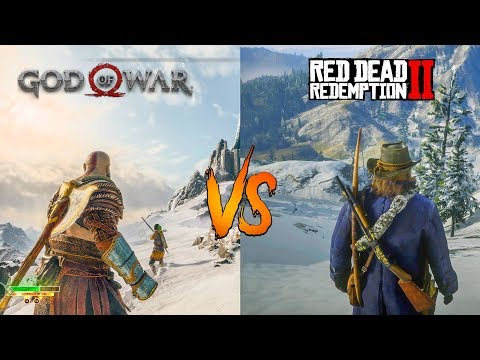 Red Dead Redemption 2 VS God of War | Side by Side Comparison thumbnail