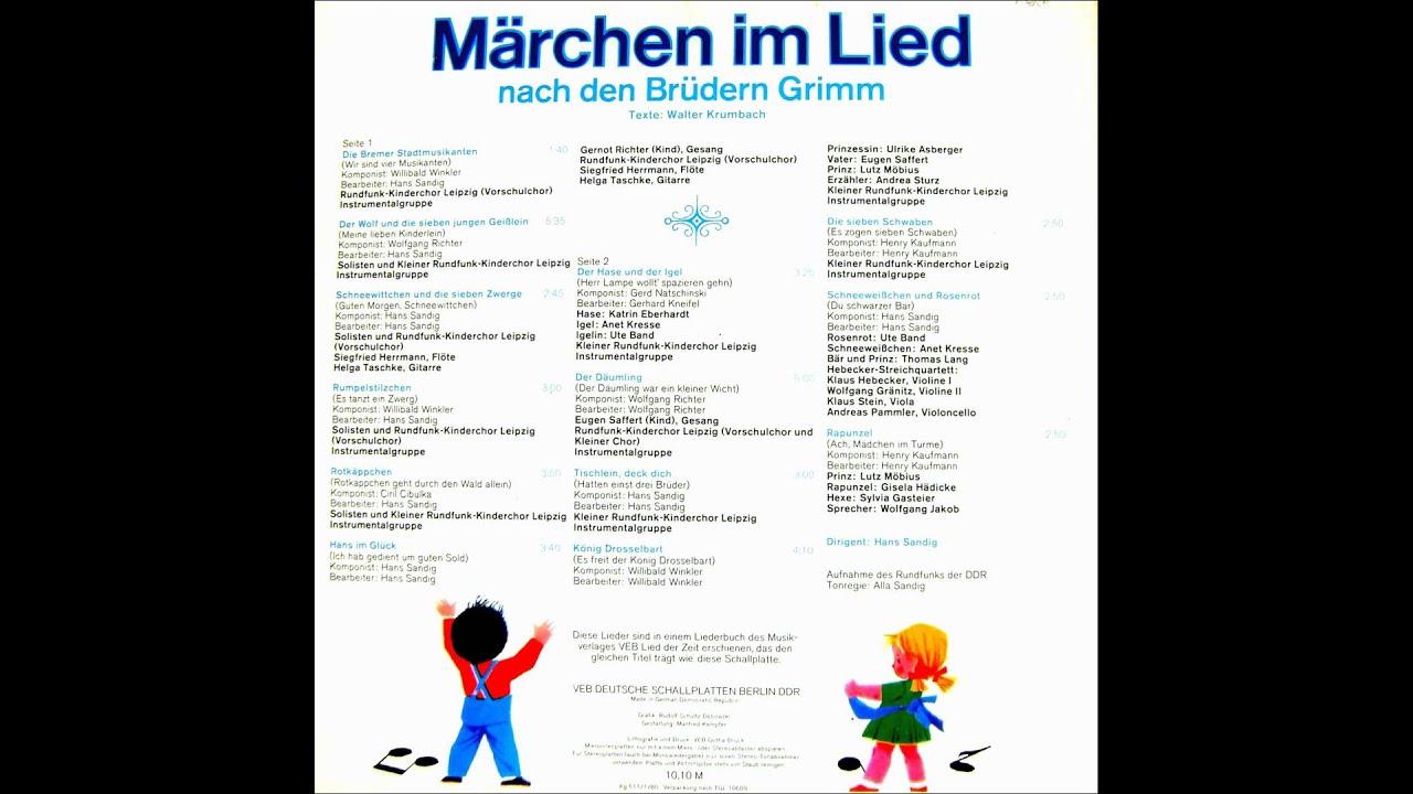 Tischlein Deck Dich Märchen