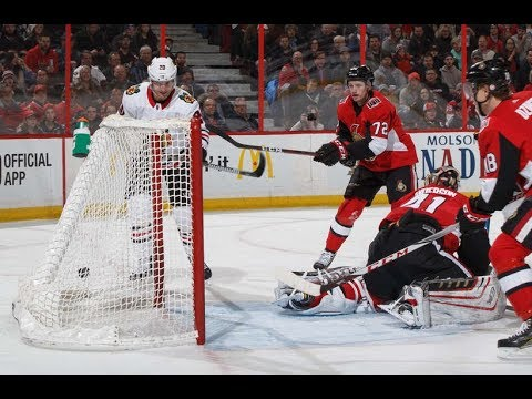 Game 41-Halfway-Ottawa Senators vs Chicago Blackhawks 2017-18
