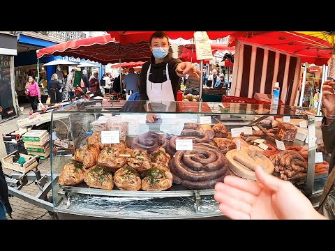 I found the best food market in France