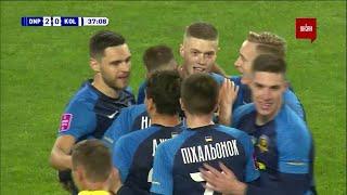 УПЛ | Чемпионат Украины по футболу 2021 | Днепр-1 - Колос - 2:0. Видео гола Довбика (38`)