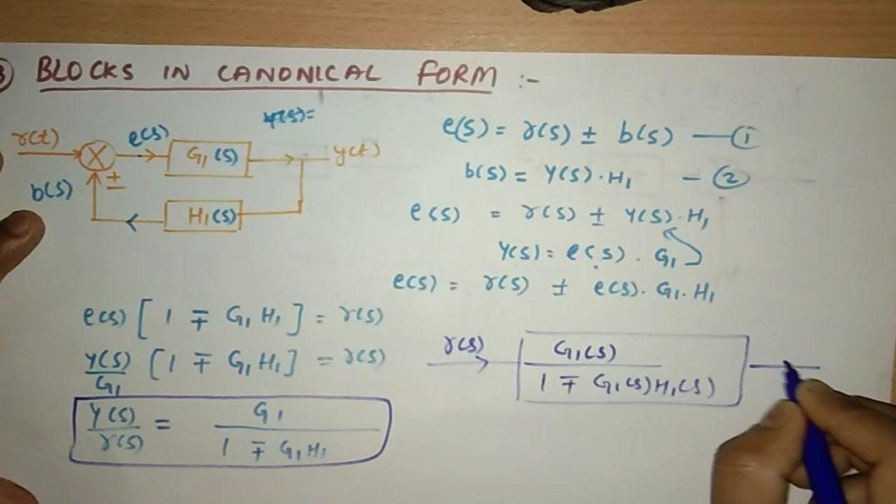 Block Diagram Basics  Different Block Diagram Arrangements