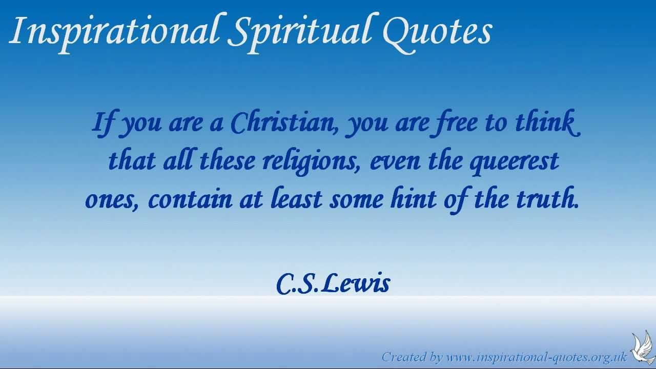 Inspirational Spiritual Quotes Prepossessing Inspirational Spiritual Quotes  Youtube