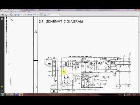 A logical approach to fix analogue electronics