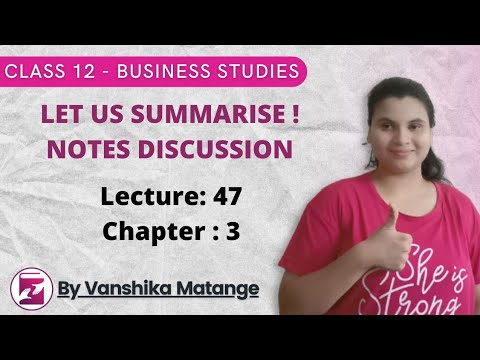 NOTES ON BUSINESS ENVIRONMENT CHAPTER III BST CLASS 12
