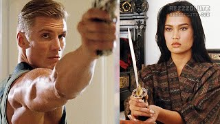 Kenner (Lundgren) saves girl - Showdown in Little Tokyo