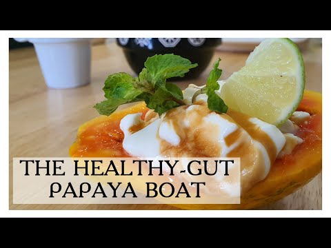 THE HEALTHY GUT-PAPAYA BOAT