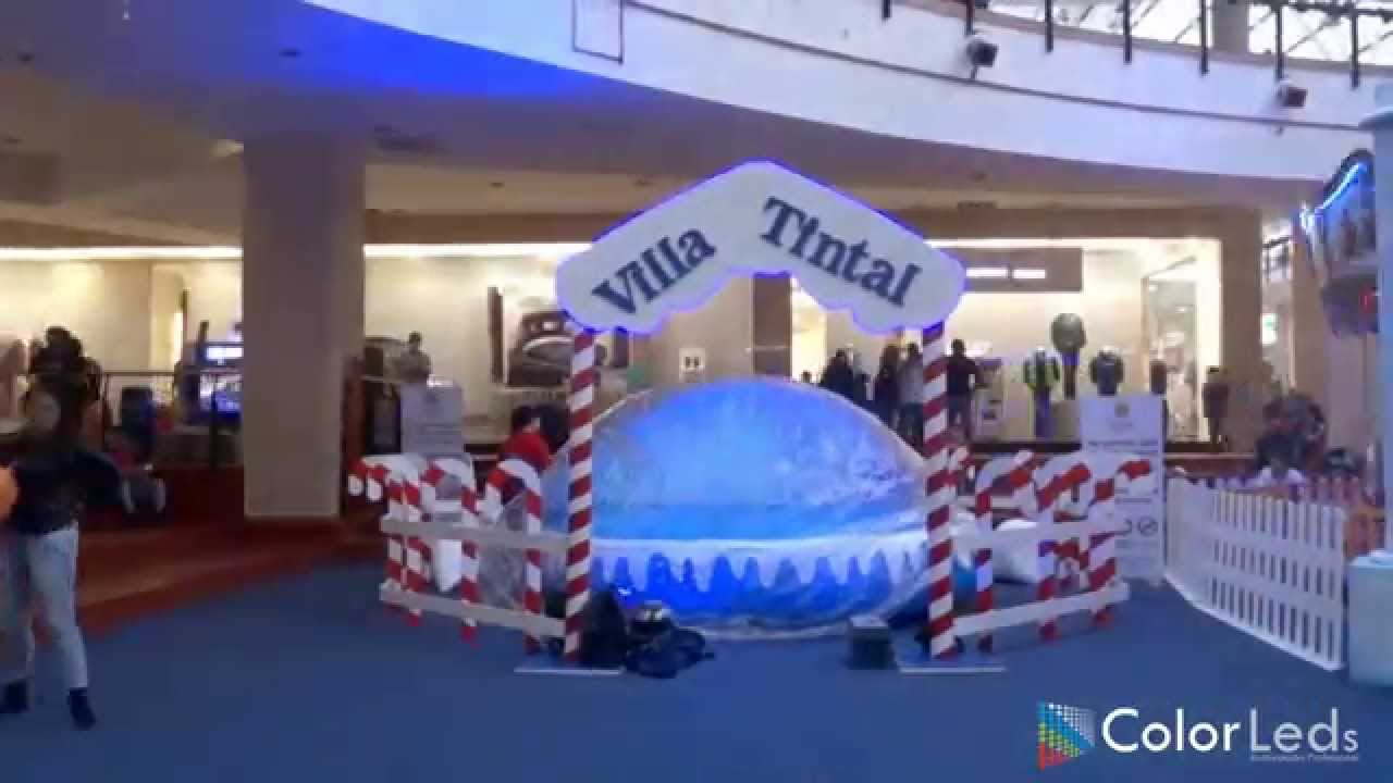 Iluminaci n decoraci n navide a tintal plaza 2014 - Decoracion navidena 2014 ...