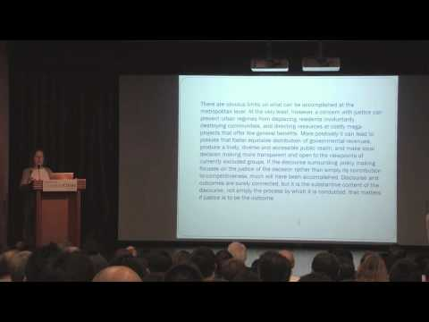 Susan Fainstein: Changing the discourse of policy-making
