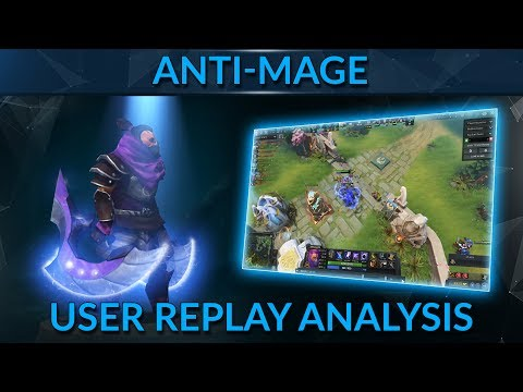 BSJ's User Replay Analysis for GameLeap - Anti-Mage 3k MMR
