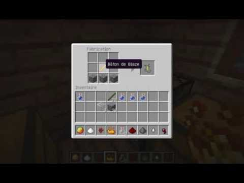 Tuto comment faire de l 39 alchimie dans minecraft youtube - Comment faire un evier dans minecraft ...